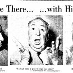 Alfred Hitchcock visits Miami, 1958